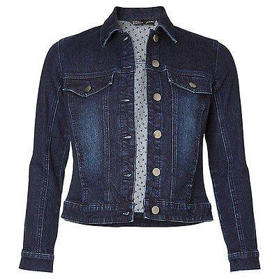 Dannii Minogue dark denim jacket