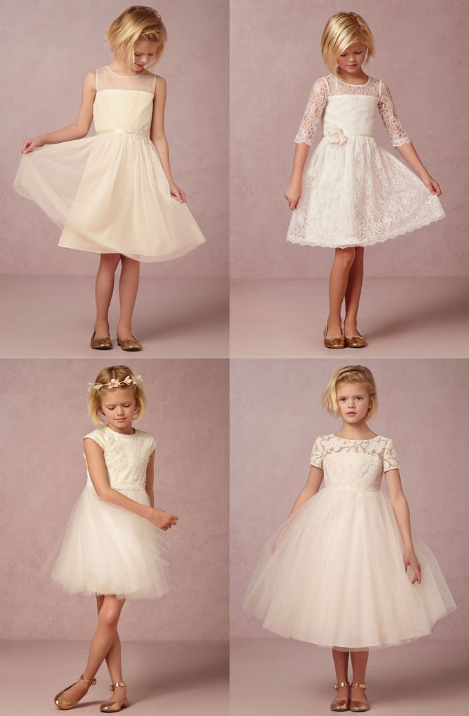 The sweetest flower girl dresses | From @BHLDN