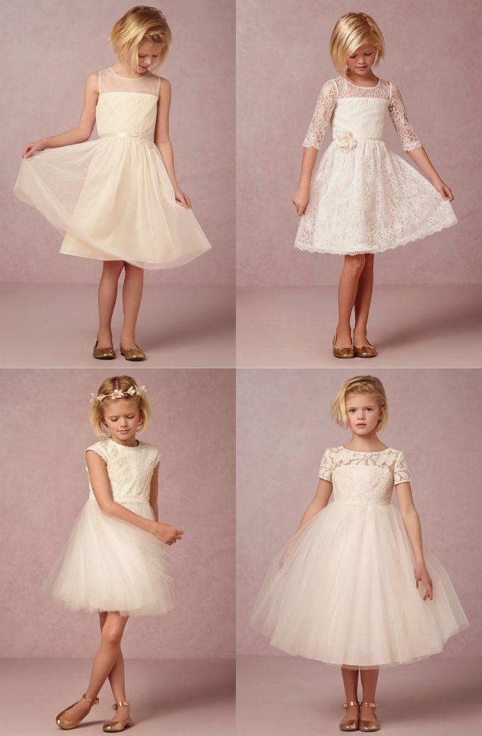 The sweetest flower girl dresses | From @BHLDN