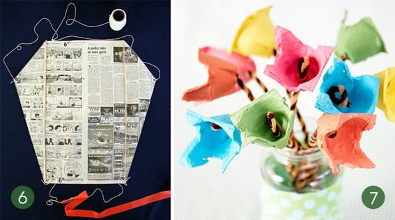 41 best images about paper crafts on pinterest recycled for Diy crafts using recycled materials