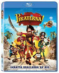 Recension av Piraterna! En Stop-motion-animation med röster av Hugh Grant, Salma Hayek, Brendan Gleeson, David Tennant, Imelda Staunton och Martin Freeman.