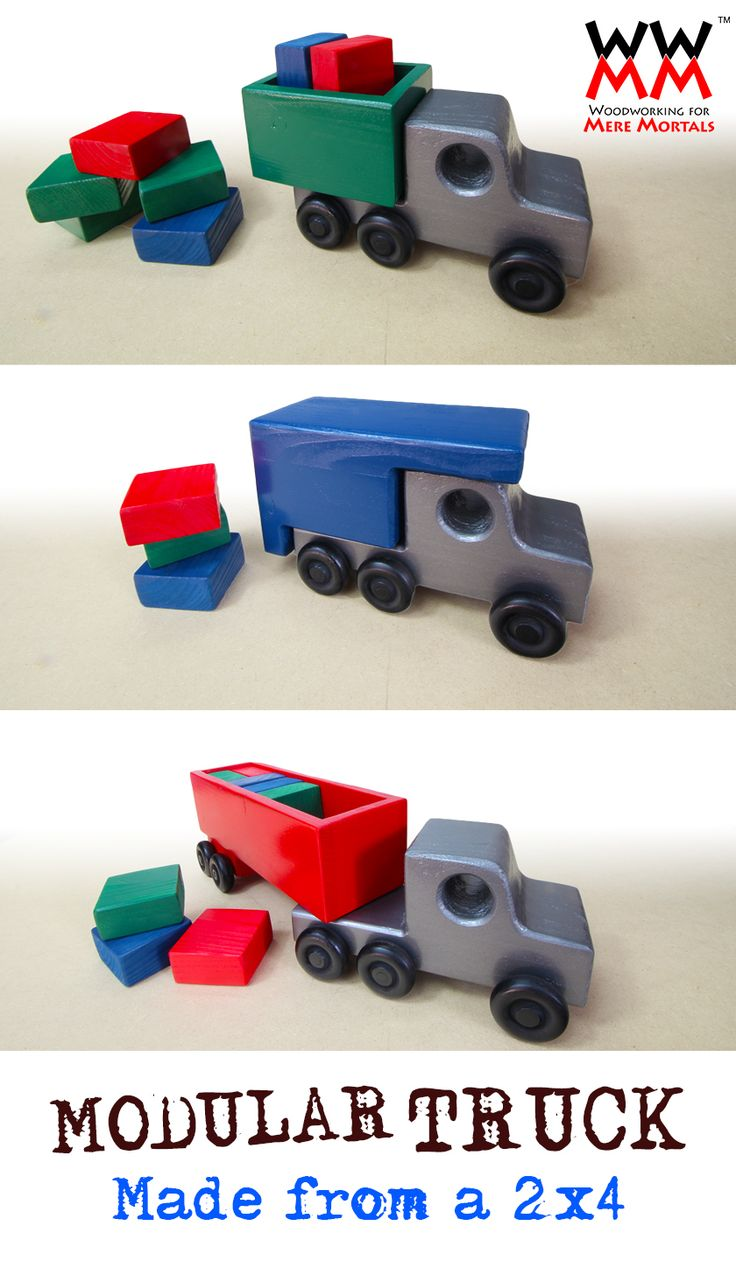 308 Best Images About Toy Wood Trucks On Pinterest Car