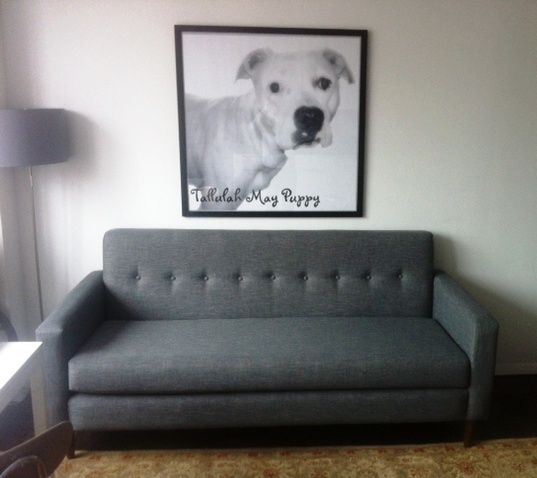 Joybird Korver Loveseat (Custom) from Michelle R.