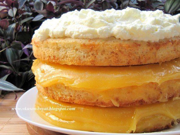 Delicious With Valya And Irina: Лимоново-бирена Торта на Мечтите / Lemon Beer Dream Cake