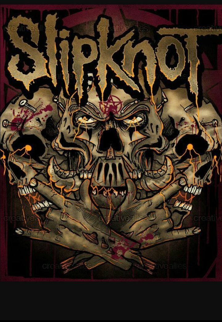 Slipknot Band Iconic Album Covers Music Metal Bands Rock Art Heavy Cover