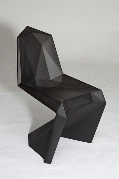 United Nude  take their voxellated aesthetic into furniture design www.creativeboysclub.com