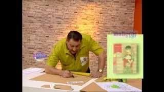 Hermenegildo Zampar - Bienvenidas TV - Explica como armar un enterito de bebé sin piernas.