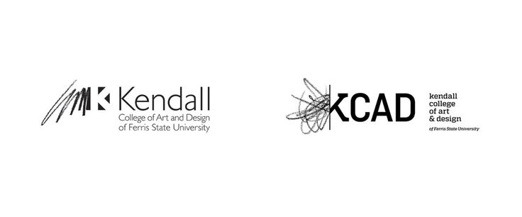 Noted: New Logo for Kendall College of Art and Design by Grey Matter Group