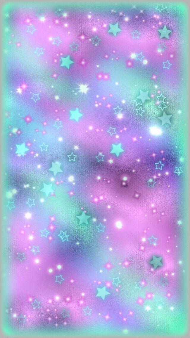 pink stars hearts wallpaper - photo #29