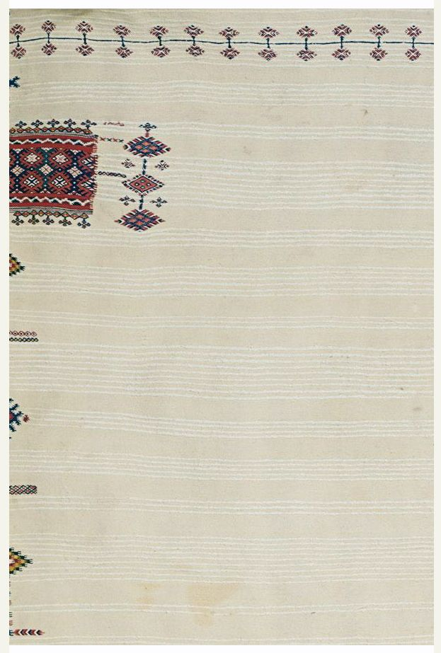 Africa   Shawl ~ Haik ~ from Morocco   Early 20th century   Wool and cotton