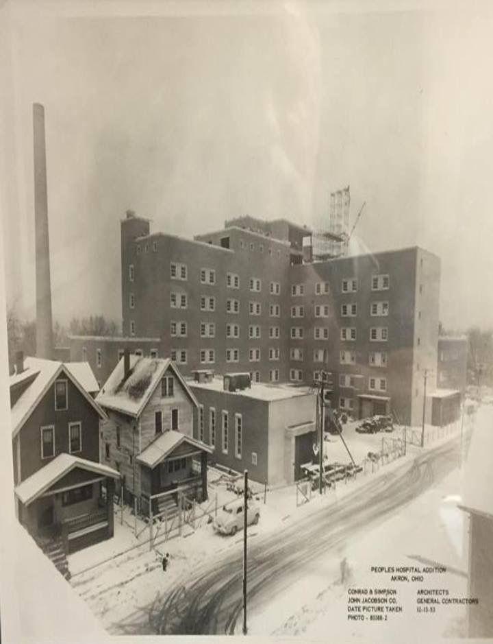 Akron Peoples Hospital Abandoned Ohio Akron Ohio Ohio History