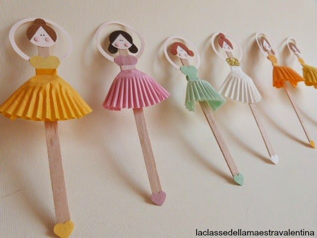 La classe della maestra Valentina: PICCOLE BALLERINE