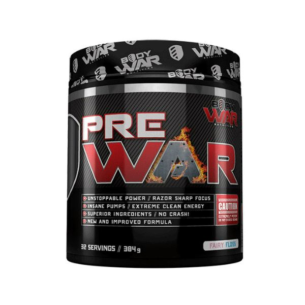 Body War Nutrition Pre War - Second To None Nutrition