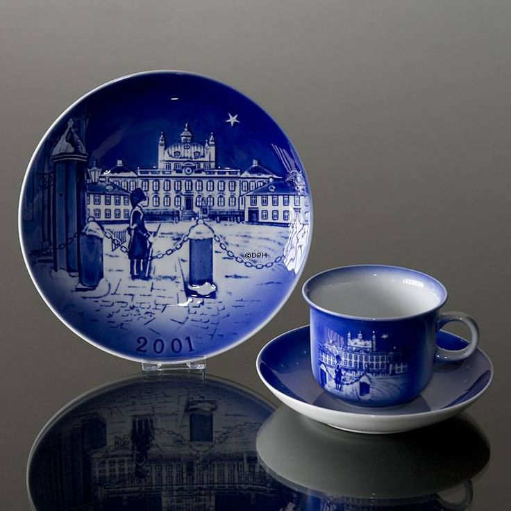 The Royal Castle Fredensborg 2001 Desiree Hans Christian Andersen Christmas plate, cake plate | Year 2001 | No. dx2001 | DPH Trading