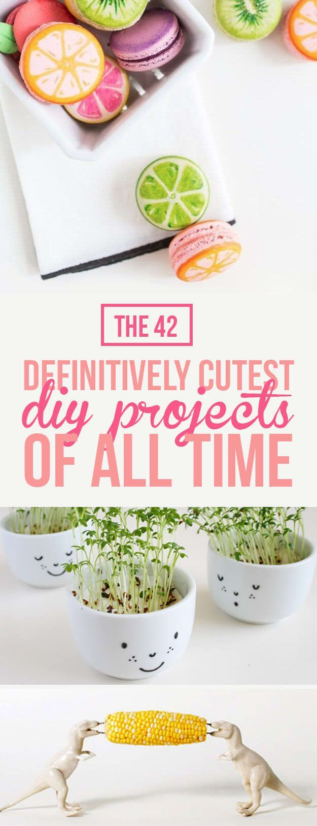 The 42 Definitively Cutest DIY Projects for Kids | There's a reason why kawaii rhymes with DIY.