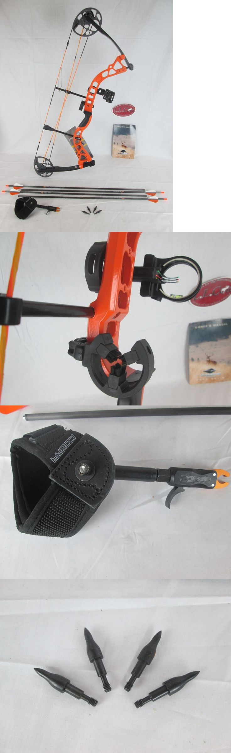 Compound 20838: Diamond Prism Compound Bow Package Left Hand Orange Replaced Infinite Edge -> BUY IT NOW ONLY: $255.98 on eBay!