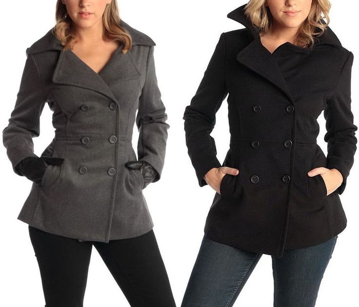 Best 25  Women's peacoats ideas on Pinterest | Short selling ...