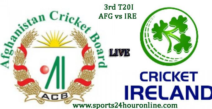 AFG vs IRE 3rd T20I Live Cricket Score Mar 12, 2017, Live Online Streaming, Match Prediction, Match Highlights, Live Scoreboard Afghanistan vs Ireland