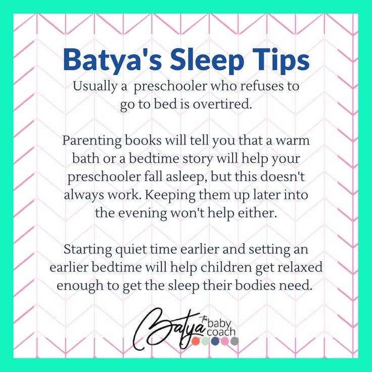 Usually a preschooler who refuses to go to bed is ...