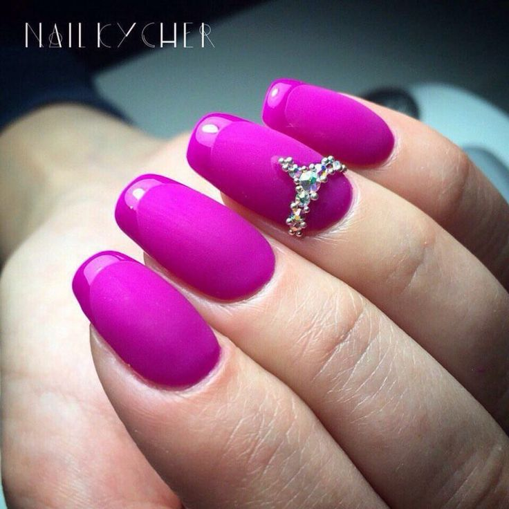 Evening dress nails, Evening french manicure, Long french manicure, Luxurious…