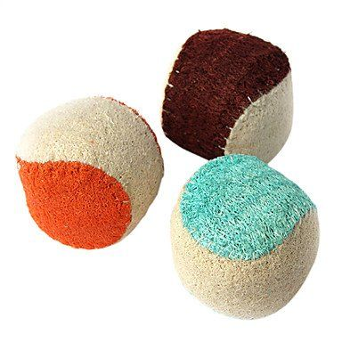 BuW 4.5CM Pets Ball Clean Teeth Loofah Sponge Toy Assorted Shippingpets store online pet supplies best toys for puppies funny dog toys - http://www.petsupplyliquidators.com/buw-4-5cm-pets-ball-clean-teeth-loofah-sponge-toy-assorted-shippingpets-store-online-pet-supplies-best-toys-for-puppies-funny-dog-toys/
