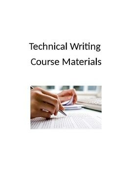This 38-pg document contains all the materials for an entire technical writing 200- 300-level college course. It includes a syllabus, course schedule, lesson plans, and all in-class activities and writing assignments.