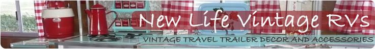 Vintage Travel Trailer Decor and Accessories by NewLifeVintageRVs