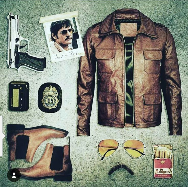 Narcos; Javier Pena Outfit