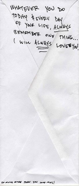 Love letter...