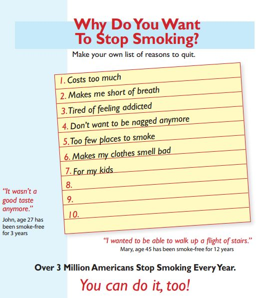 5 Things to Do Before You Quit Smoking