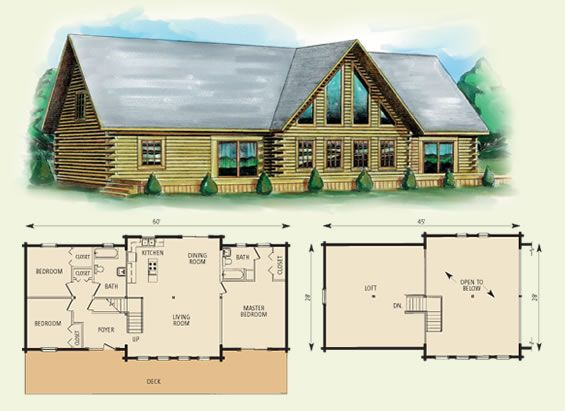 . 371 best Cabin plans images on Pinterest