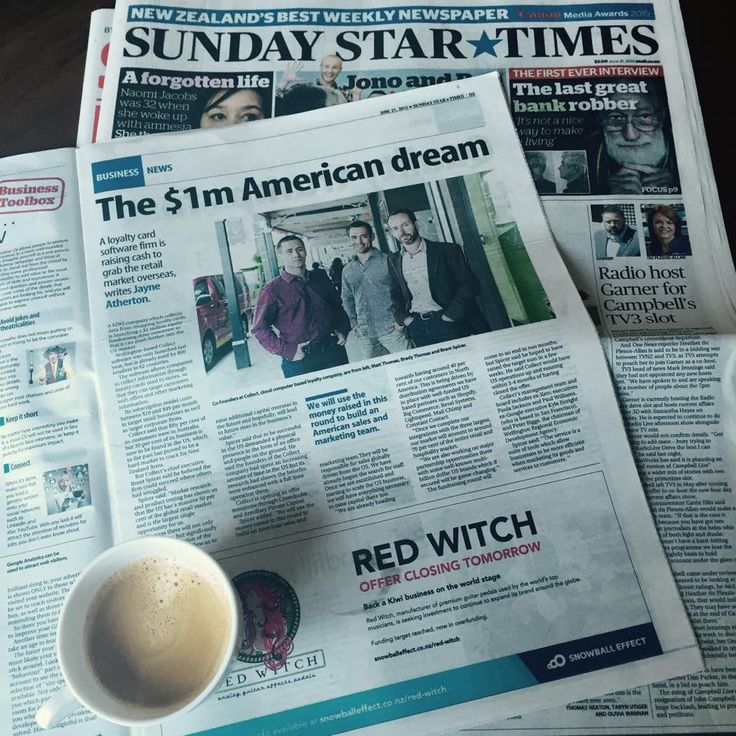 Great Sunday morning coffee read. Spice talks about collect tackling the U.S. #KiwiDream #MustRead