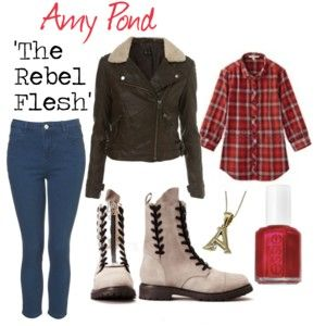 Amy Pond in 'The Rebel Flesh'