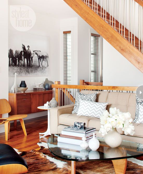 Mid Century Modern Rustic Living Room 21 best mid-century modern meets rustic - our new place! images on