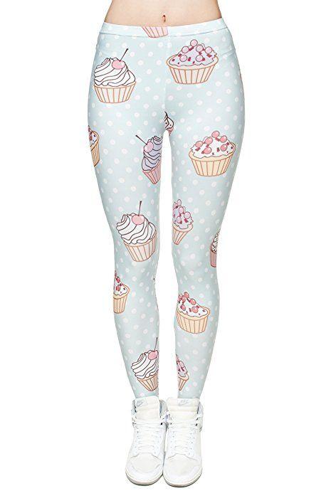 The Christmas Outfit Damen Leggings Muffins Dots Einheitsgröße
