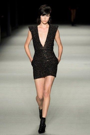 Minidress di Saint Laurent