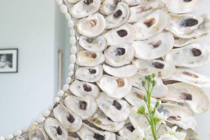 Elle a accumulé des dizaines de coquilles d'huîtres pour faire ce projet magnifique qui lui vaut des félicitations de tous! - Trucs et Bricolages