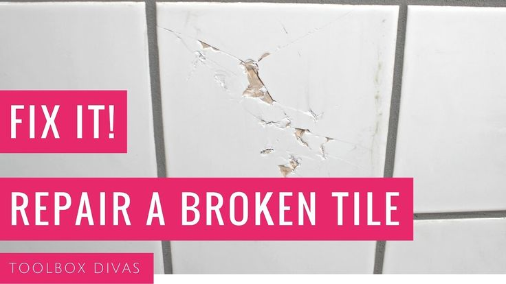 Learn How to Repair a chipped or Broken Tile. This is so easy and simple.  Replace the tile quickly. Home maintenance. Home repair
