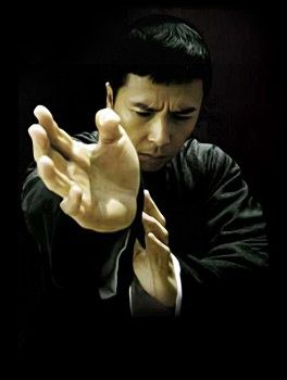 "Donnie Yen is ""Ip Man"", a Wing Chung Master."