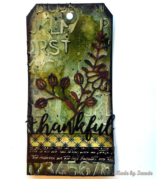 Made by Sannie: Stampin it for STAMPtember with video tutorial
