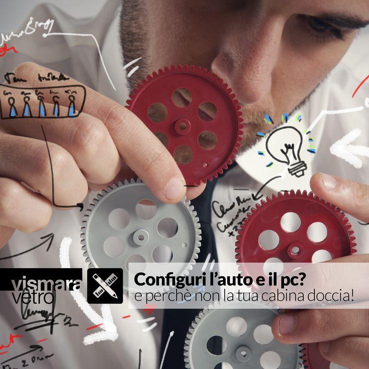 Configuri l'auto e il pc? E perché non la tua cabina doccia!  Prova ora il configuratore Vismaravetro > bit.ly/TBWCfc #vismaravetro #configuratore #cabinadoccia #design #madenitaly #boxdoccia