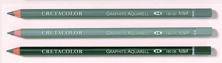 Watersoluble Graphite Pencils