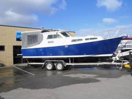 Custom PLATE ALLOY CABIN CRUISER GREAT DECK | Motorboats & Powerboats | Gumtree Australia Wanneroo Area - Wangara | 1140638312
