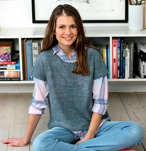 Strik selv: Patentstrikket bluse - Hendes Verden