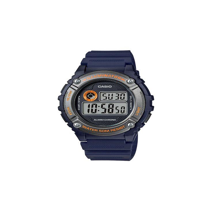 Men's Casio Digital Watch - Blue, Size: Mens
