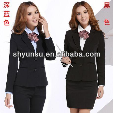Ladies' suit,women bank uniform,office uniform for women $8~$50