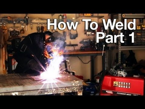 Welding - Tips for Beginners, Types of Welds and Troubleshooting from Eastwood - YouTube