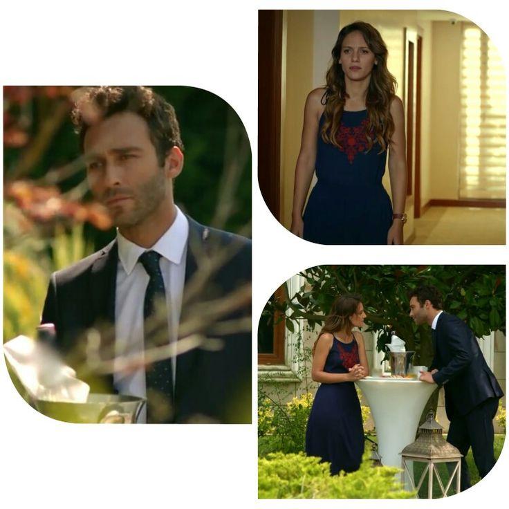 Blue code dress ♡ #asli indoor and outside ♡ #ateşbocegi