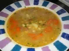 hrstková polievka