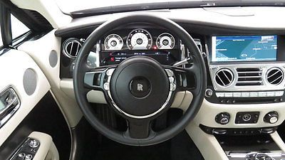Black Rolls Royce Wraith